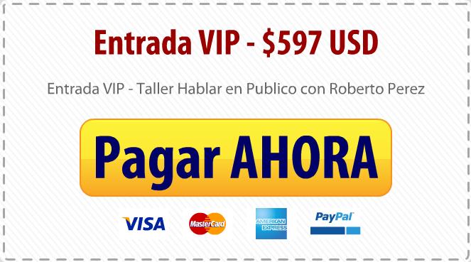 Taller Entrada VIP $597