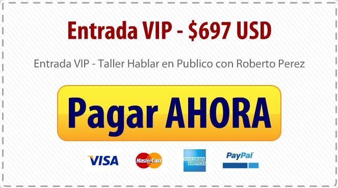 Taller Entrada VIP $697